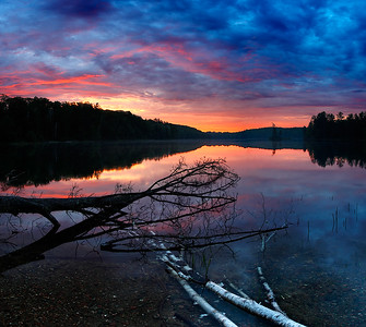 Vanishing - Nebish Lake (Northern Highland American Legion State Forest - Wisconsin)