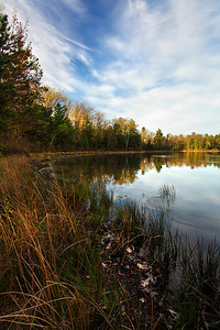 Spring Deception - McGrath Lake (Northern Highland American Legion State Forest - Wisconsin)