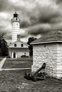 Stormy Light - Cana Island Lighthouse (Door County - Wisconsin)