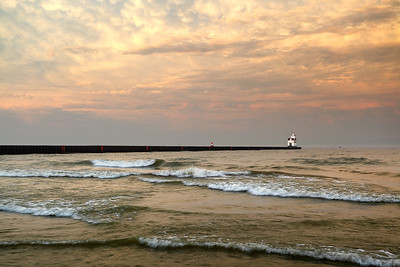 Nuclear Light - Kewaunee Pierhead Lighthouse (Kewaunee, WI)