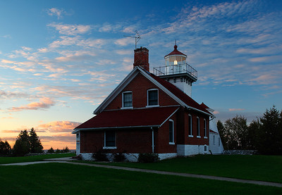 Drifting Light - Sherwood Point Lighthouse (Door County - Wisconsin)