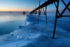 Bitterly Blue Light - Sturgeon Bay Ship Canal Pierhead Light (Door County - Wisconsin)