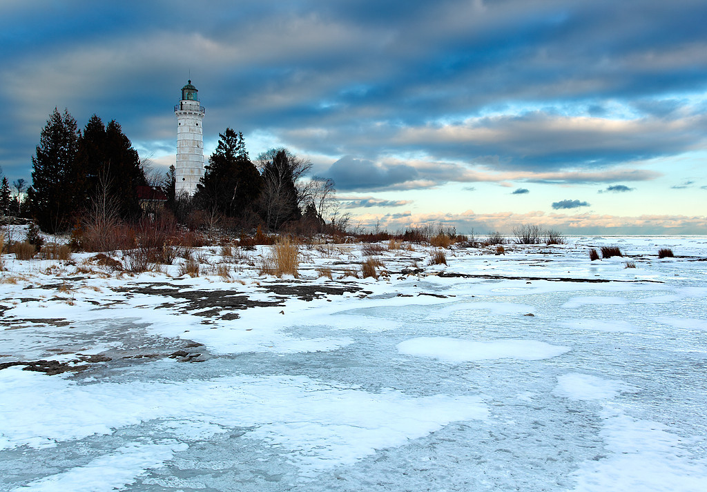 A Mazed In Light - Cana Island Lighthouse (Door County - Wisconsin)