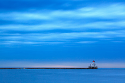 Withholding Light - Milwaukee Breakwater Lighthouse (Milwaukee, WI)