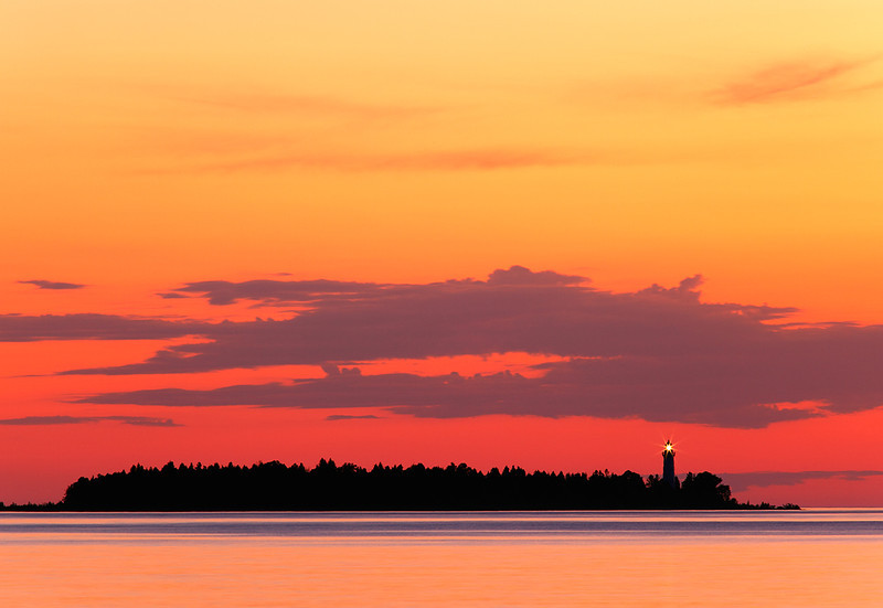 Unexpected Light - Cana Island Lighthouse (Door County - Wisconsin)