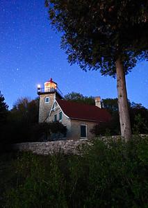 Star Light - Eagle Bluff Lighthouse (Door County - Wisconsin)