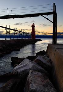Fisherman's Light II - Algoma Pierhead Lighthouse (Algoma, WI)