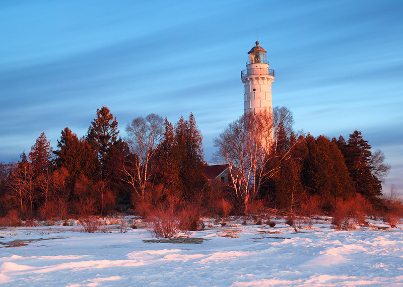 Devil's Light - Cana Island Lighthouse (Door County - Wisconsin)