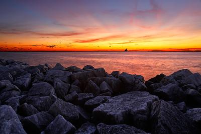 Beaming Light - Milwaukee Breakwater Lighthouse (Milwaukee, WI)