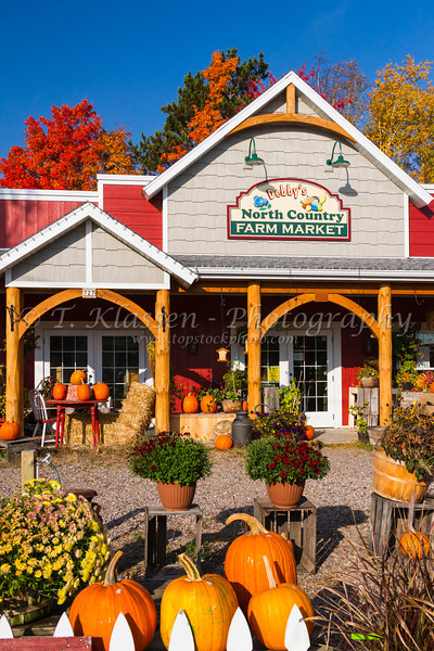 Debbie's North Country Farm Market at Minocqua, Wisconsin, USA.