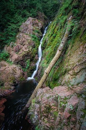 Ashland County, WI, Morgan Falls, County Park