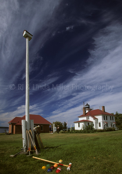Bayfield County, Wisconsin, Raspberry Island Lighthouse