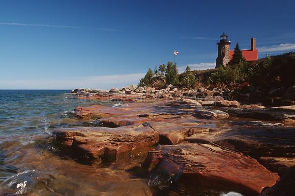 Bayfield County, Wisconsin, Sand Island Lighthouse