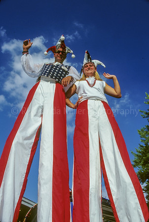 Chippewa County, Couple on Stilts at Northern WI State Fair