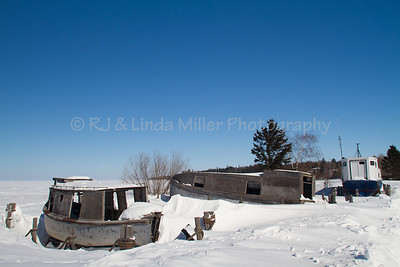 Old Fishing Tug, Cornucopia, Lake Superior, Bayfield County, Wisconsin