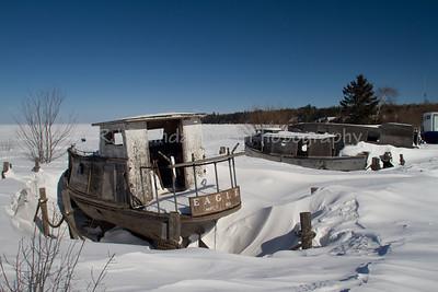 Eagle Fishing Tug, Cornucopia, Lake Superior, Bayfield County, Wisconsin