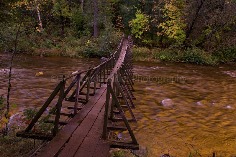 Douglas County, Footbridge Over The Brule River