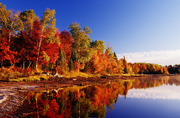 WI046580-02 Gile Flowage Fall Color