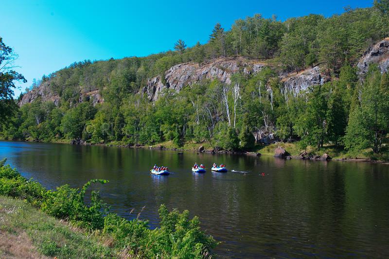 41417 Marinette County, WI - Rafting on Menomonie