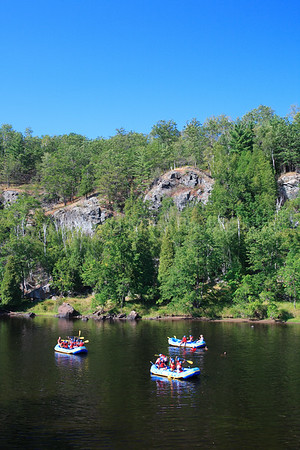 41424 Marinette County, WI - Rafting on Menomonie
