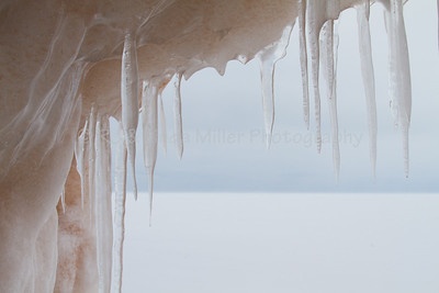 Sand Island Ice Caves, Winter on Lake Superior, Bayfield County, Wisconsin