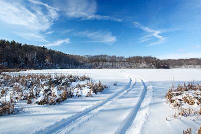 Winter Drive - Lake Seven (Kettle Moraine State Forest Northern Unit - Wisconsin)