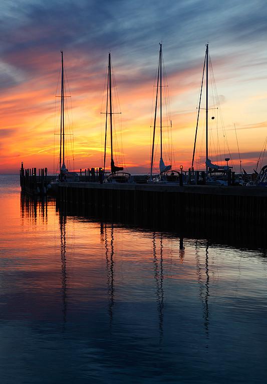 Reflecting Sails - Ellison Bay (Door County - Wisconsin)