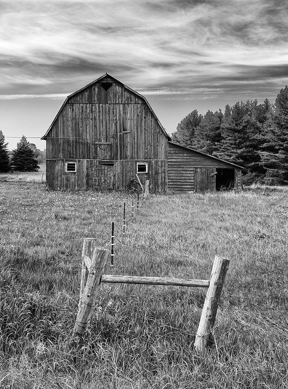The New & Old - County Road ZZ Barn (Door County - Wisconsin)