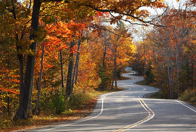 Tummytickle - Road to Northport (Door County - Wisconsin)