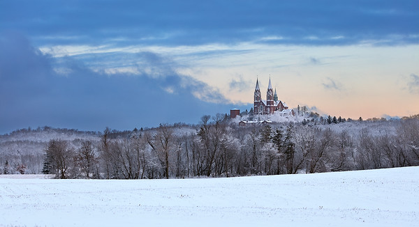 Holy Freeze - Holy Hill (Hubertus, Wisconsin)