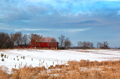 Red Winter - Wisconsin Farm (Washington County - Wisconsin)