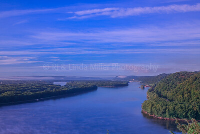 Mississippi River at Sunrise