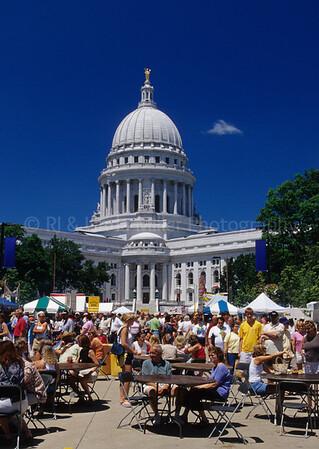 46331 WI Capital Building Farmers Market