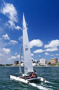 Sailboat on Lake Monona - Madison