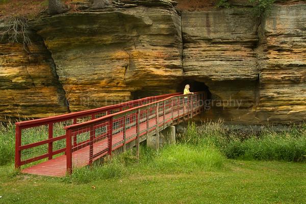 Rockbridge Park, Richland County, Wisconsin