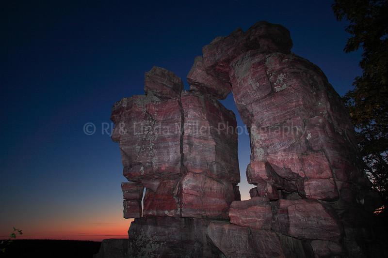 Devil's Doorway Rock Formation