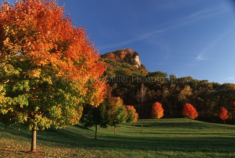 WI047192 Vernon - Mississippi River Bluffs - Fall