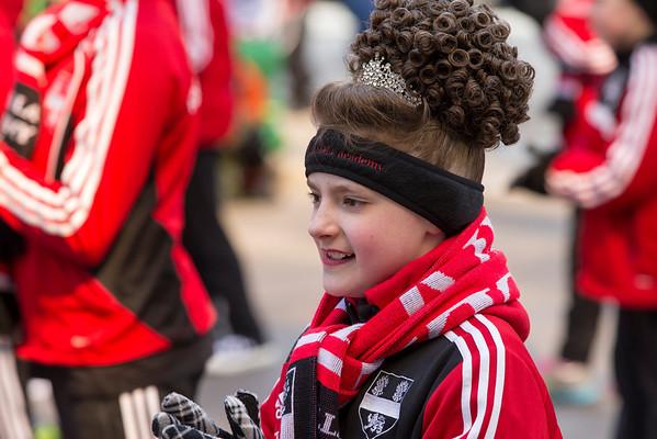 St Paddy Parade 2014