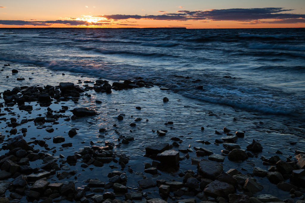 Sunset at Peninsula State Park. Door County, WI<br /> <br /> WI-100904-0128