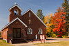 The Sacred Heart Catholic Church in Radison, Wisconsin, USA.