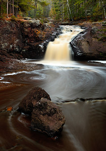 Around Away - Upper Amnicon Falls (Amnicon Falls State Park - Wisconsin)