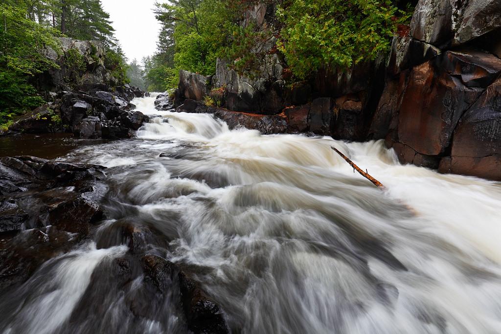 Rainy Run Down III - Dave's Falls (Amberg, WI)