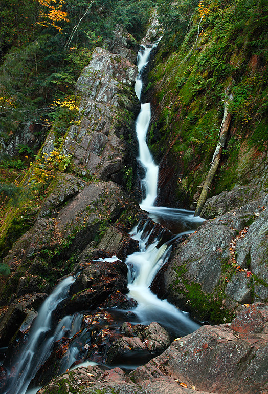 In Between - Morgan Falls (Chequamegon National Forest - Wisconsin)