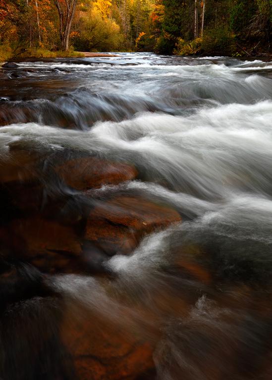 Autumn Awash II - Mays Ledges (Brule River - Brule River State Forest)