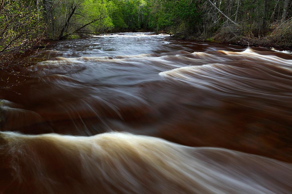 Spring Spilling - Mays Ledges (Brule River - Brule River State Forest)