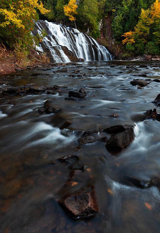Autumn Depths II - Lower Potato River Falls (Iron County - Wisconsin)