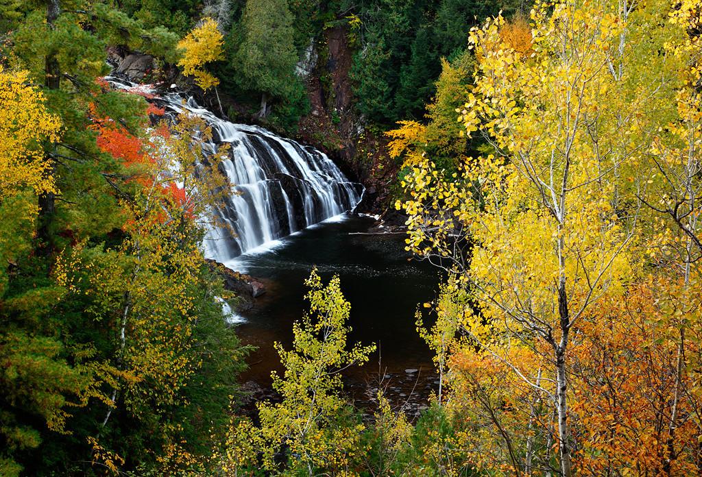 Autumn Ablaze II - Lower Potato River Falls (Iron County - Wisconsin)