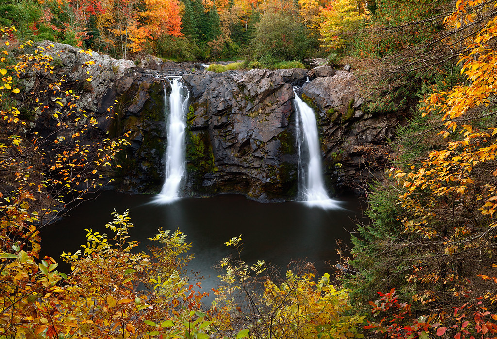 Double Drop - Little Manitou Falls (Pattison State Park - Wisconsin)