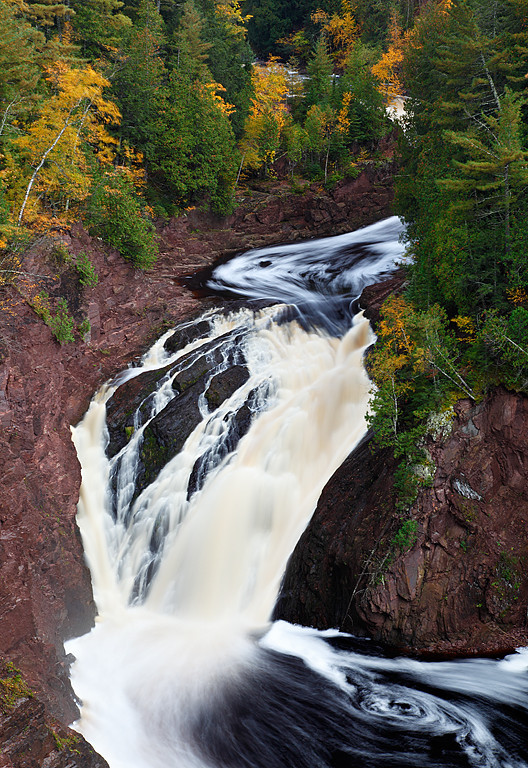 Loop and Swirl - Superior Falls (Wisconsin/Upper Michigan Border)