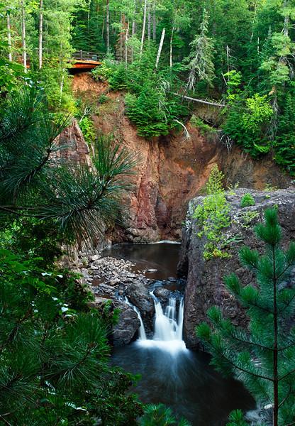 Bridged - Copper Falls (Copper Falls State Park - Wisconsin)